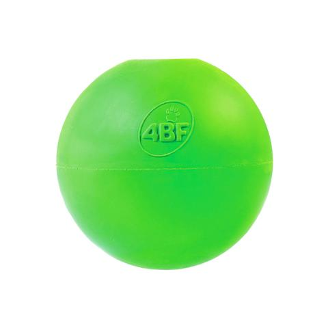 4BF Crazy Bounce Dog Toy, Green, Medium
