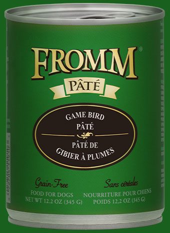 Fromm Pate Gamebird Canned Dog Food, 12.2-oz