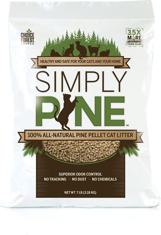 Simply Pine Cat Litter, 20-lb bag