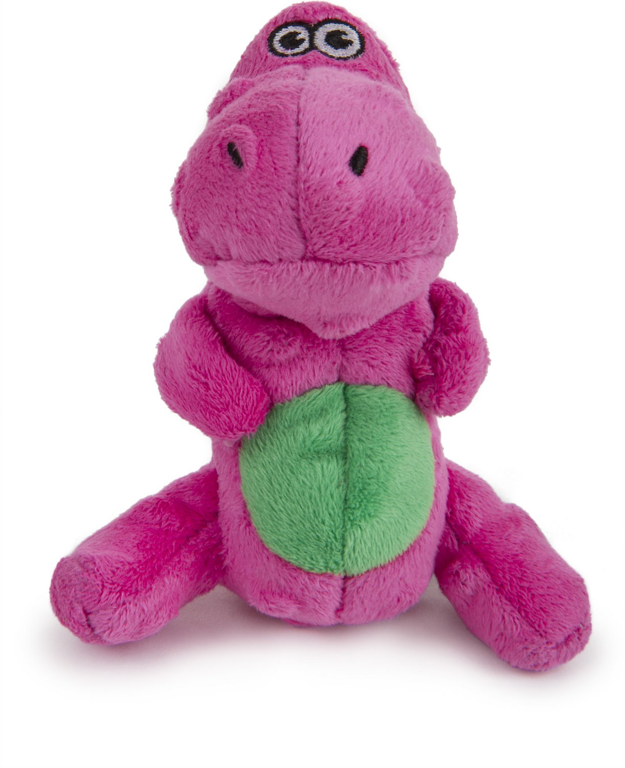 GoDog Just for Me Chew Guard T-Rex Dog Toy, Pink