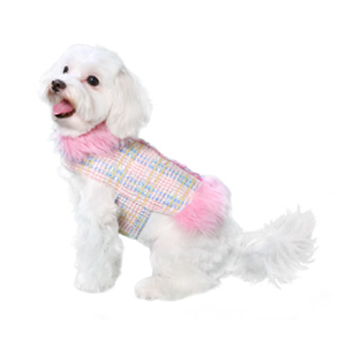 Pooch Outfitters Fur Coat, Aubrey, XX-Small