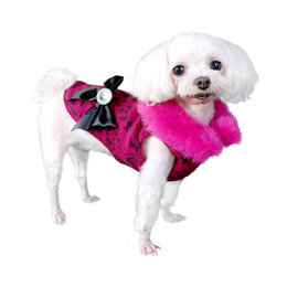 Pooch Outfitters Fur Coat, Bella, X-Small