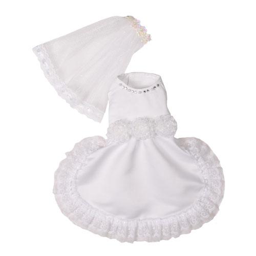 Pooch Outfitters Wedding Dress, Vera , Medium