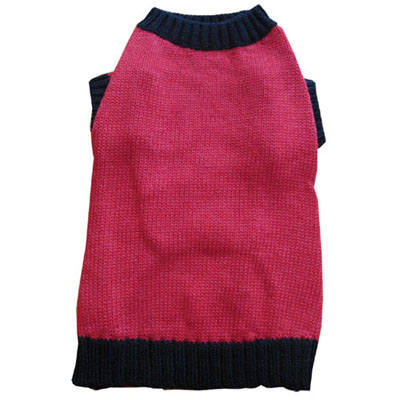 Pooch Outfitters Sweater, Red, Medium