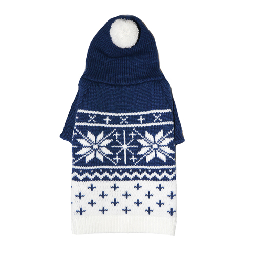 Pooch Outfitters Sweater, Reese Blue, Large