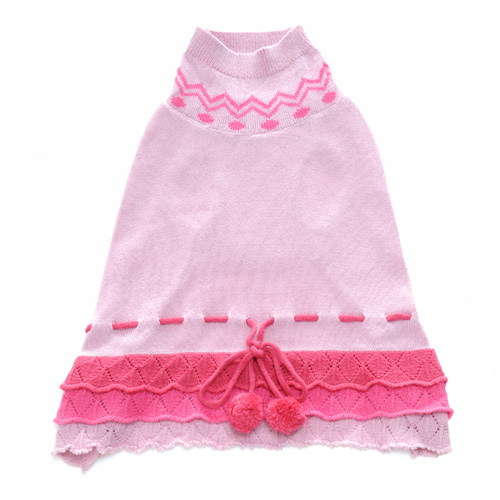 Pooch Outfitters Sweater Dress, Tatiana, Large