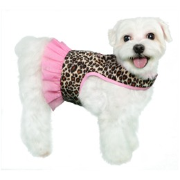 Pooch Outfitters Harness Dress, Abigail, Large