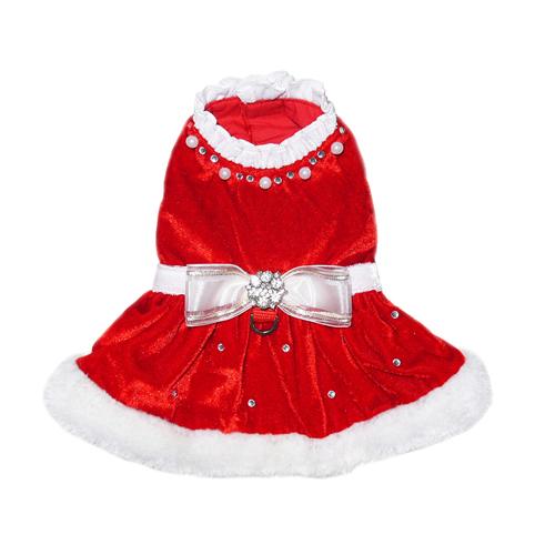 Pooch Outfitters Dress, Noella Santa, Large