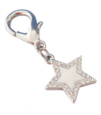 Pooch Outfitters Collar Charm, Stella