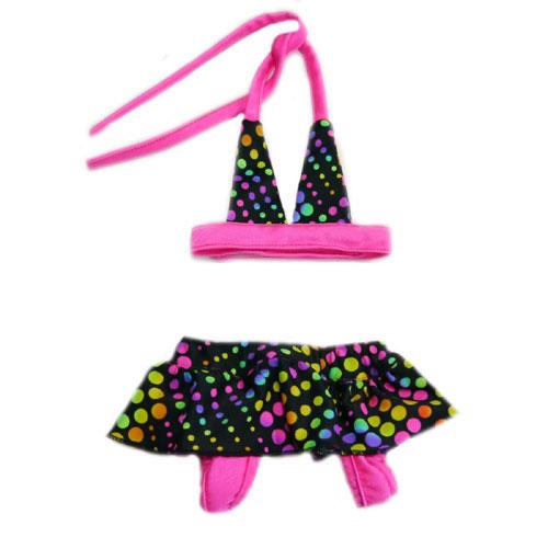 Pooch Outfitters Dog Bikini, Santorini, XX-Small