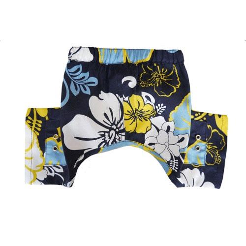 Pooch Outfitters Swim Trunk, Sebastian, XX-Small