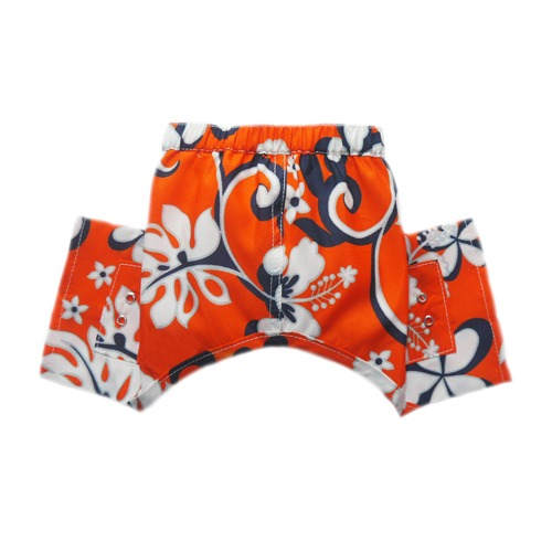Pooch Outfitters Swim Trunk, Cayman, Large