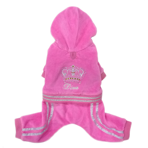 Pooch Outfitters Jumper, Diva Pink, XX-Small