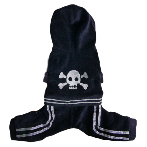 Pooch Outfitters Jumper, Skully Black, X-Large