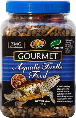 Zoo Med Gourmet Aquatic Turtle Food, 6-oz jar