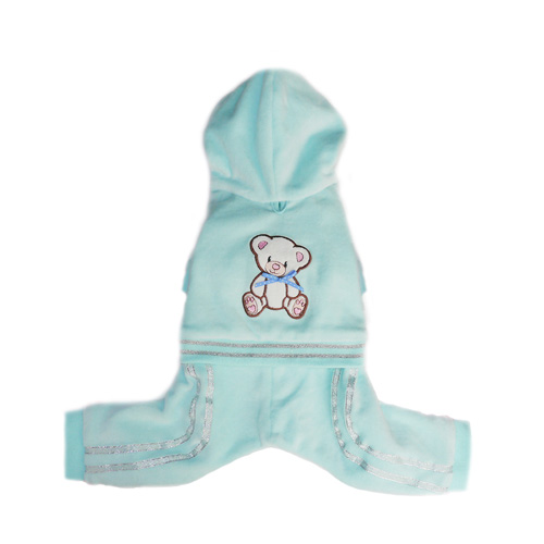 Pooch Outfitters Jumper, Teddy Blue, X-Small