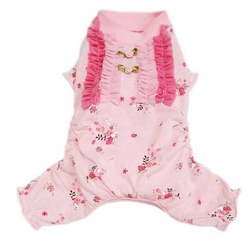 Pooch Outfitters Pajama, Elena, XX-Small