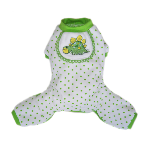 Pooch Outfitters Pajama, Dino, Small