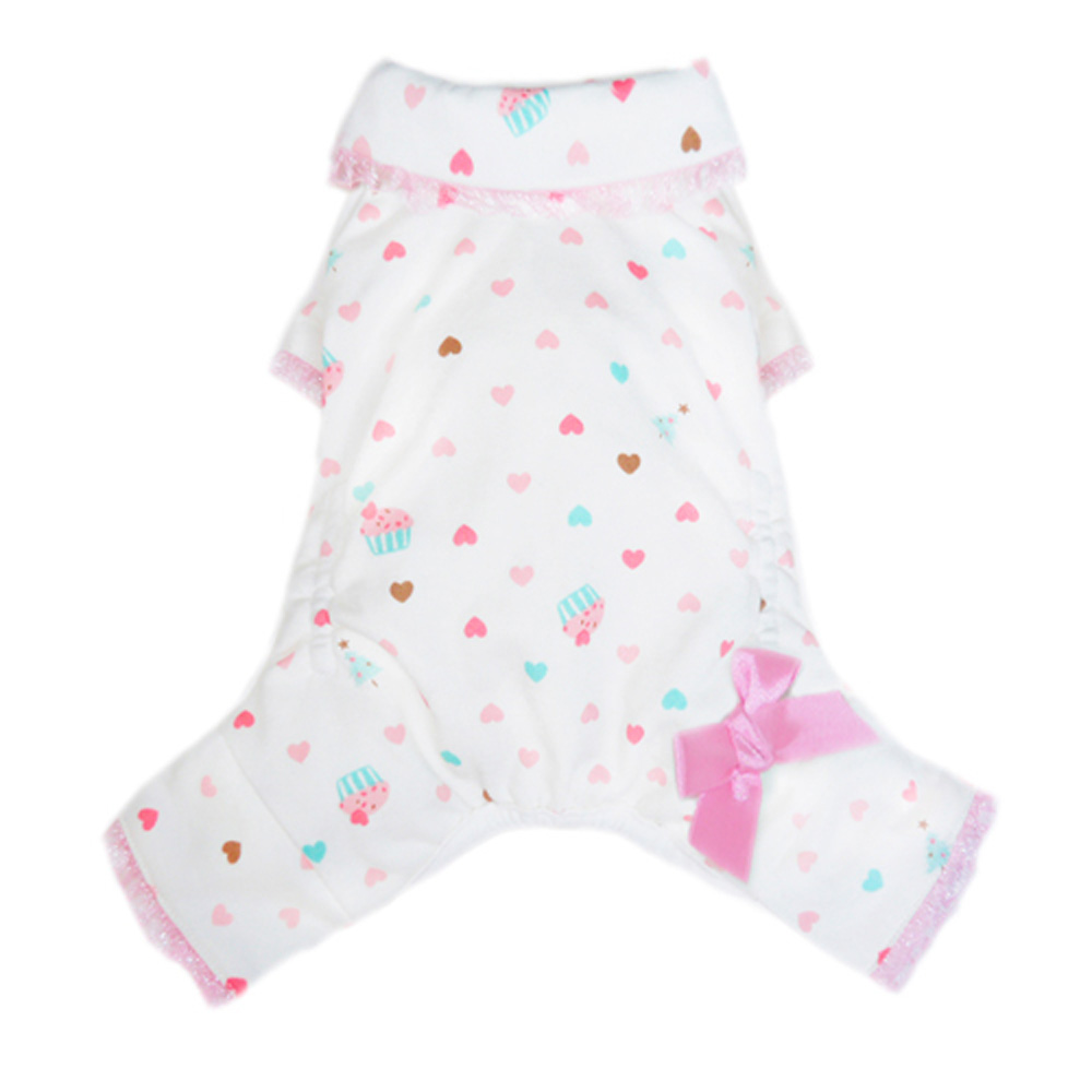 Pooch Outfitters Pajama, Cupcake, X-Small