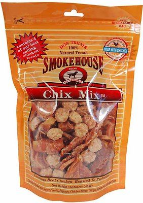 Smokehouse Chix Mix Dog Treats, 16-oz bag
