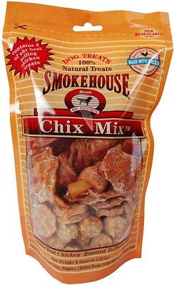 Smokehouse Chix Mix Dog Treats, 8-oz bag