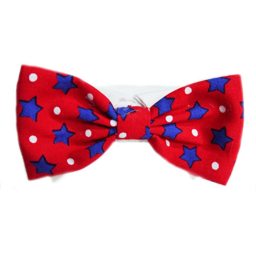 Pooch Outfitters Shirt Collar with Detachable Bow Tie, Charlie, XX-Large