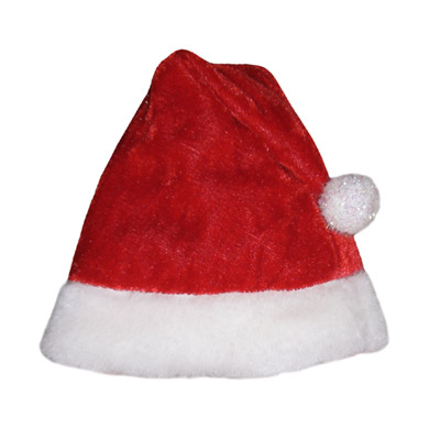 Pooch Outfitters Santa Paws Hat, X-Small