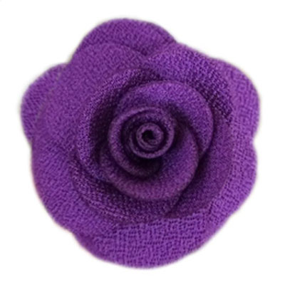 Pooch Outfitters Collar Flower, Hannah Purple, Small/Medium