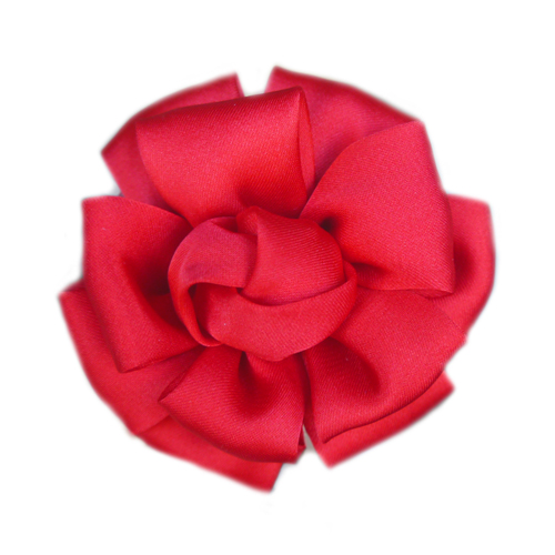 Pooch Outfitters Collar Flower, Jolie Red
