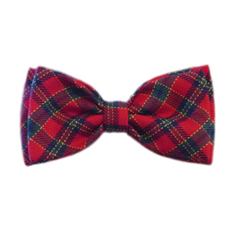 Pooch Outfitters Collar Slider Bow Tie, Xmas, XX-Small/X-Small