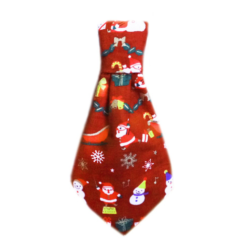 Pooch Outfitters Collar Slider Necktie, Santa, XX-Small/X-Small