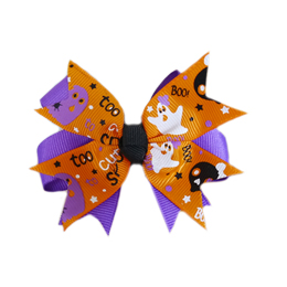 Pooch Outfitters Collar Slider Ribbon, Boo!