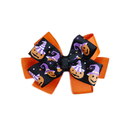 Pooch Outfitters Collar Slider Ribbon, Pumpkin