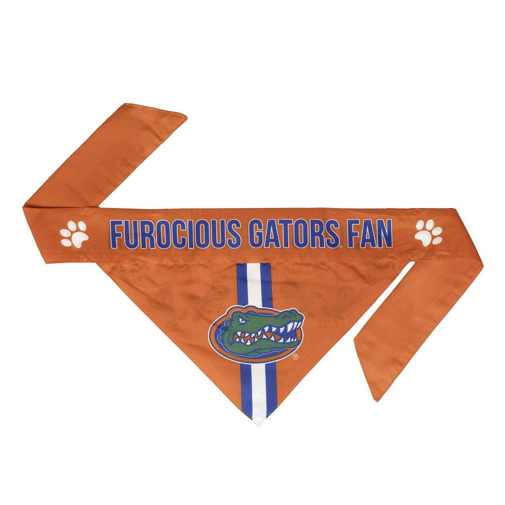 Little Earth Tie-On Dog Bandana, NCAA Florida Gators, Small