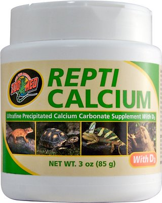 Zoo Med Repti Calcium with D3 Reptile Supplement, 3-oz jar