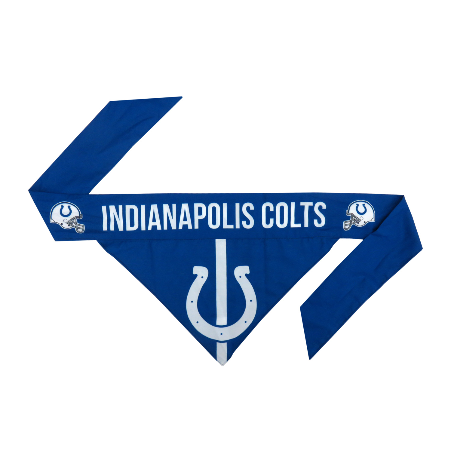 Little Earth Tie-On Dog Bandana, NFL Indianapolis Colts, Small