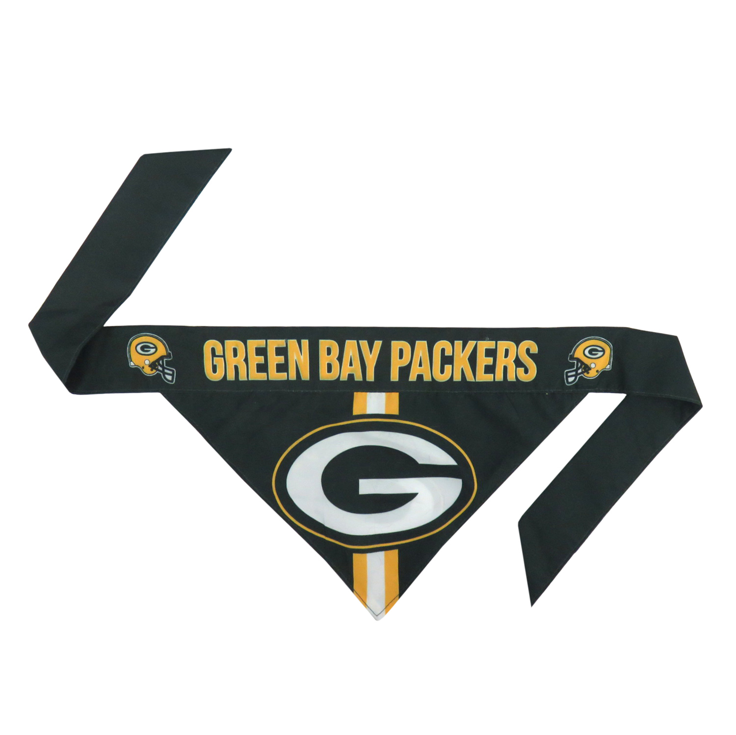 Little Earth Tie-On Dog Bandana, NFL Green Bay Packers, Small
