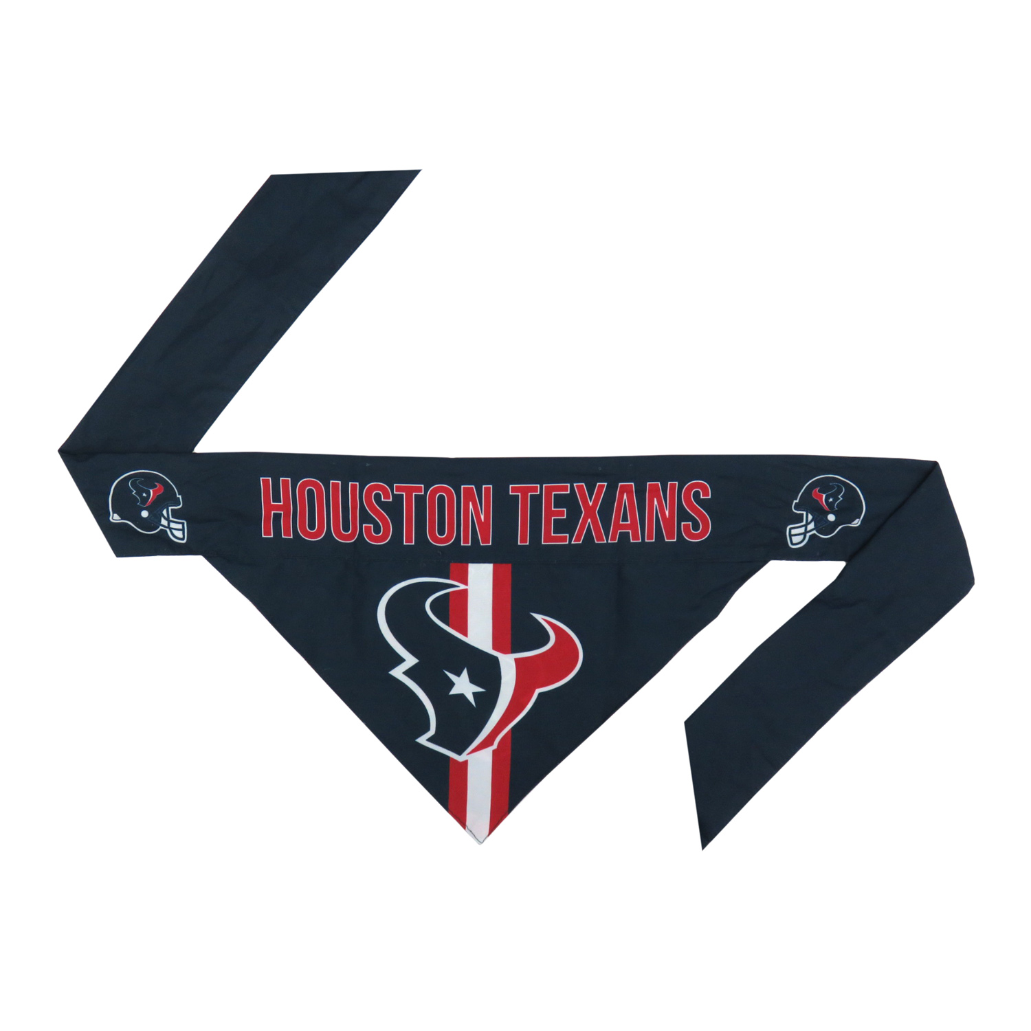 Little Earth Tie-On Dog Bandana, NFL Houston Texans, Small