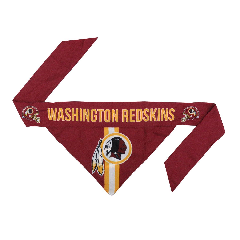 Little Earth Tie-On Dog Bandana, NFL Washington Redskins, Large