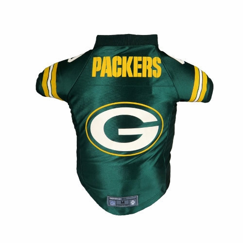 Little Earth Premium Dog Jersey, NFL Green Bay Packers, Small