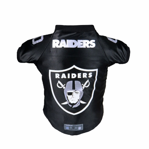 Little Earth Premium Dog Jersey, NFL Oakland Raiders, Medium