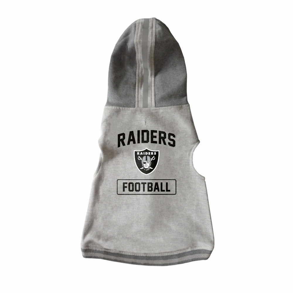 Little Earth Dog Hoodie, NFL Oakland Raiders, X-Small