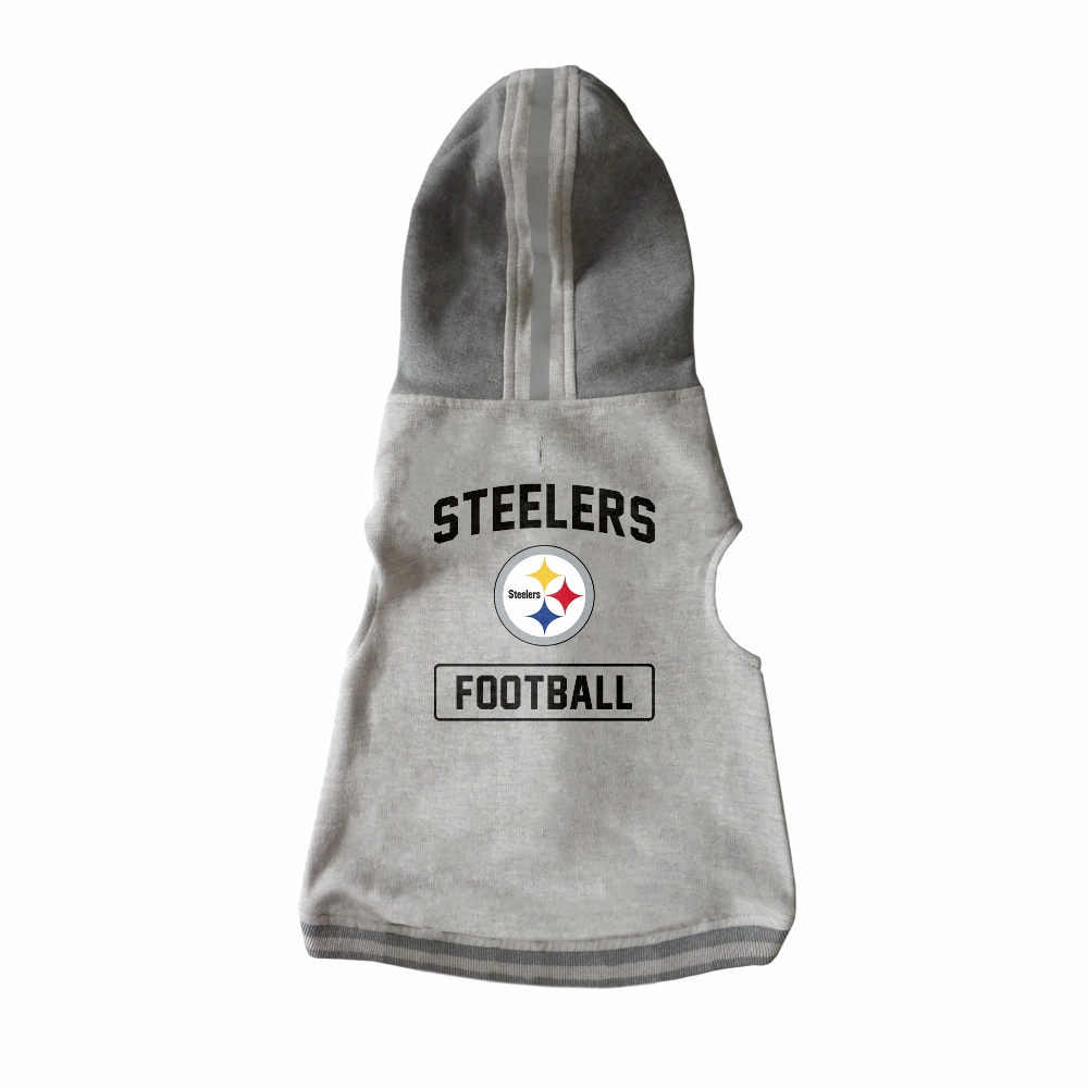 Little Earth Dog Hoodie, NFL Pittsburgh Steelers, X-Large