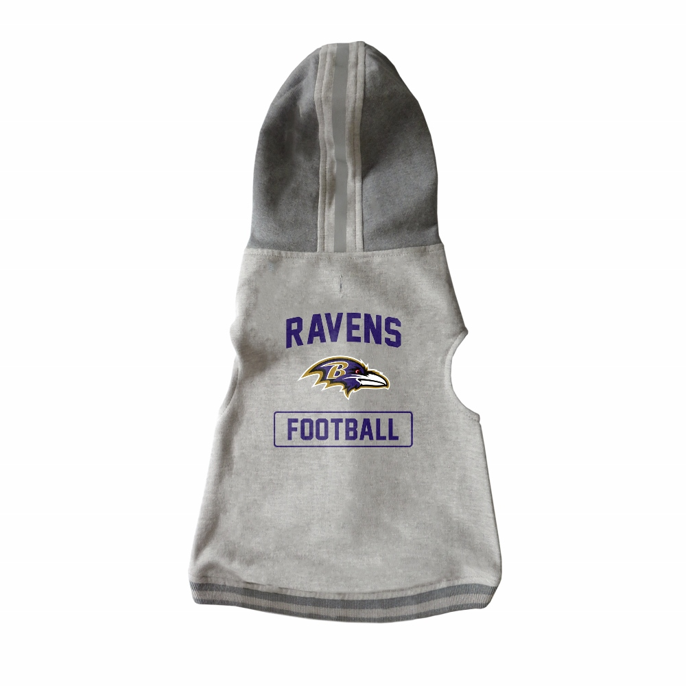 Little Earth Dog Hoodie, NFL Baltimore Ravens, X-Large