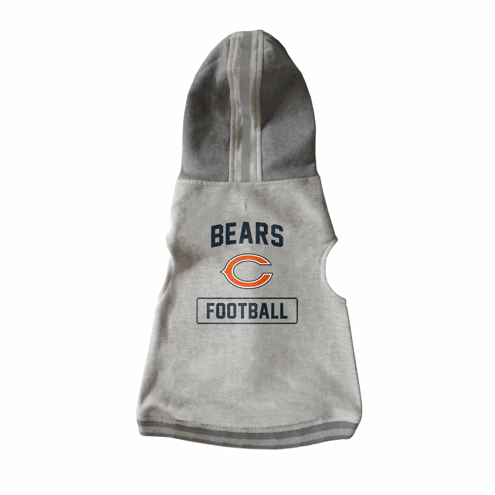 Little Earth Dog Hoodie, NFL Chicago Bears, Medium