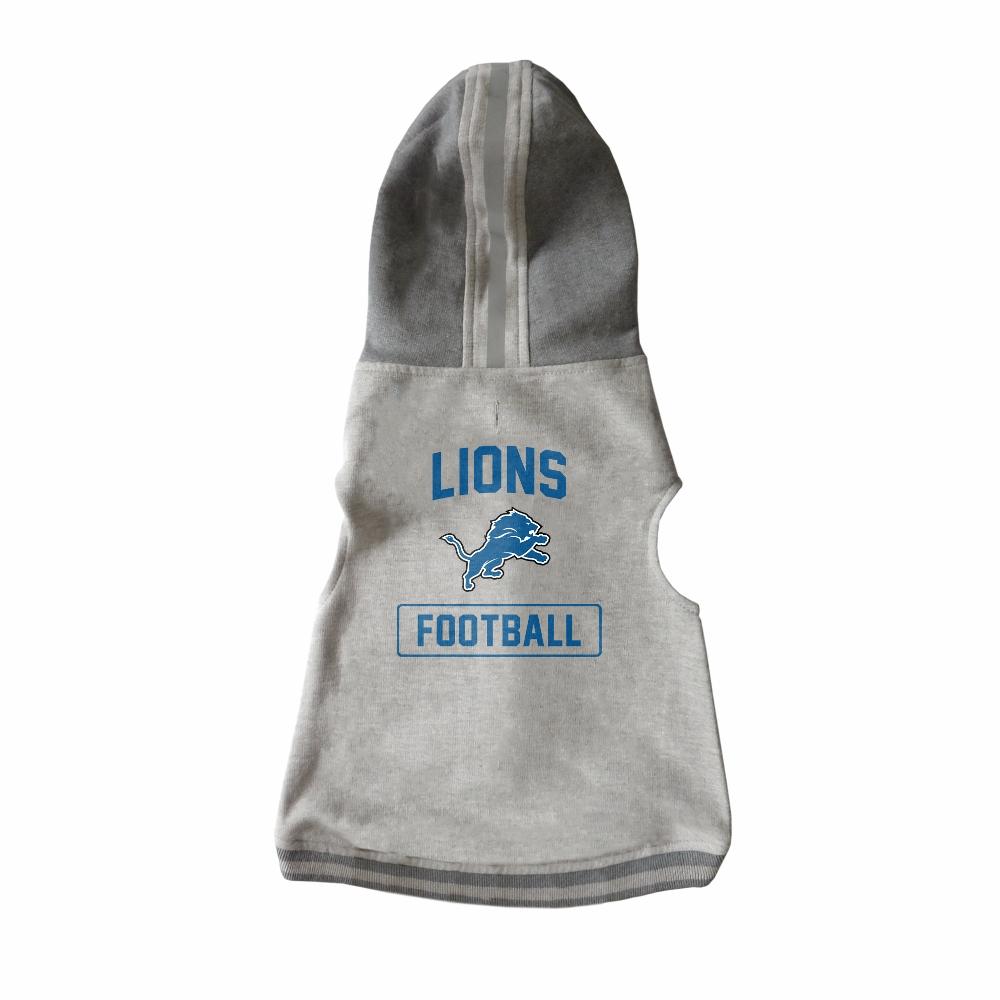 Little Earth Dog Hoodie, NFL Detroit Lions, Large