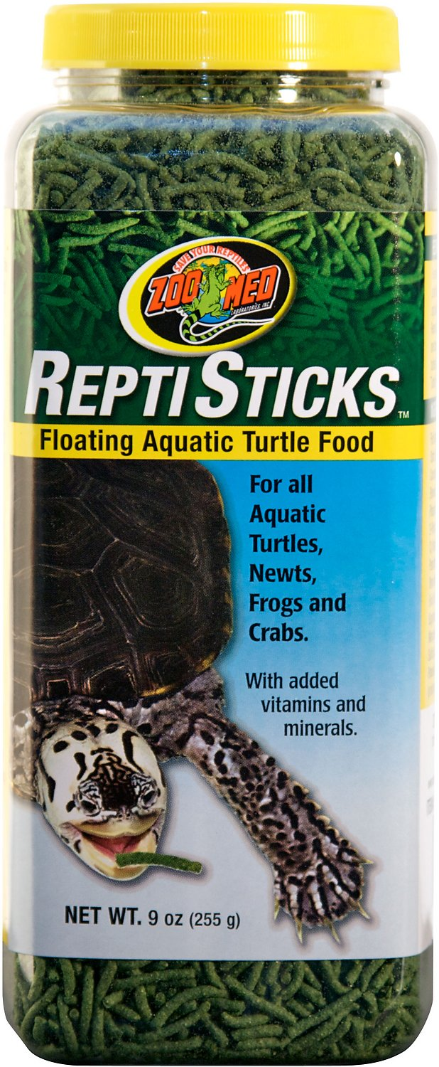 Zoo Med Repti Sticks Aquatic Turtle Food, 9-oz jar