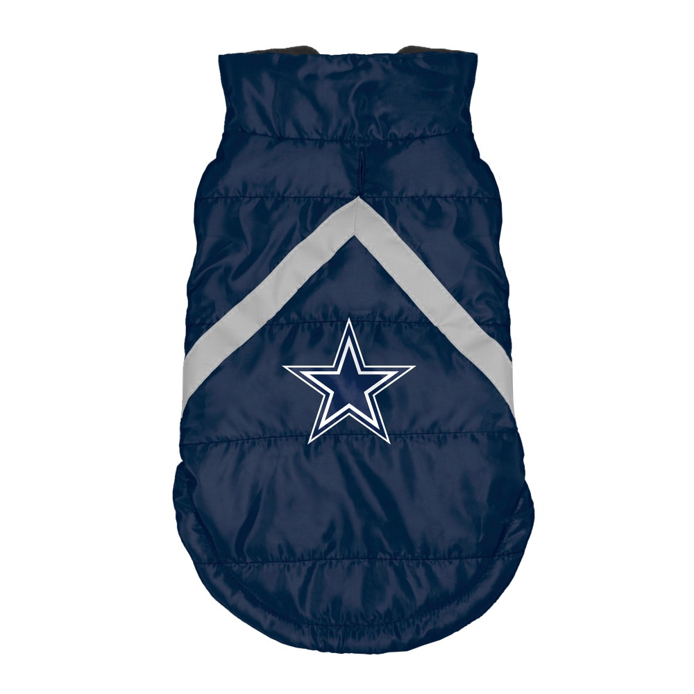 Little Earth Dog Puffer Vest, NFL Dallas Cowboys, X-Large