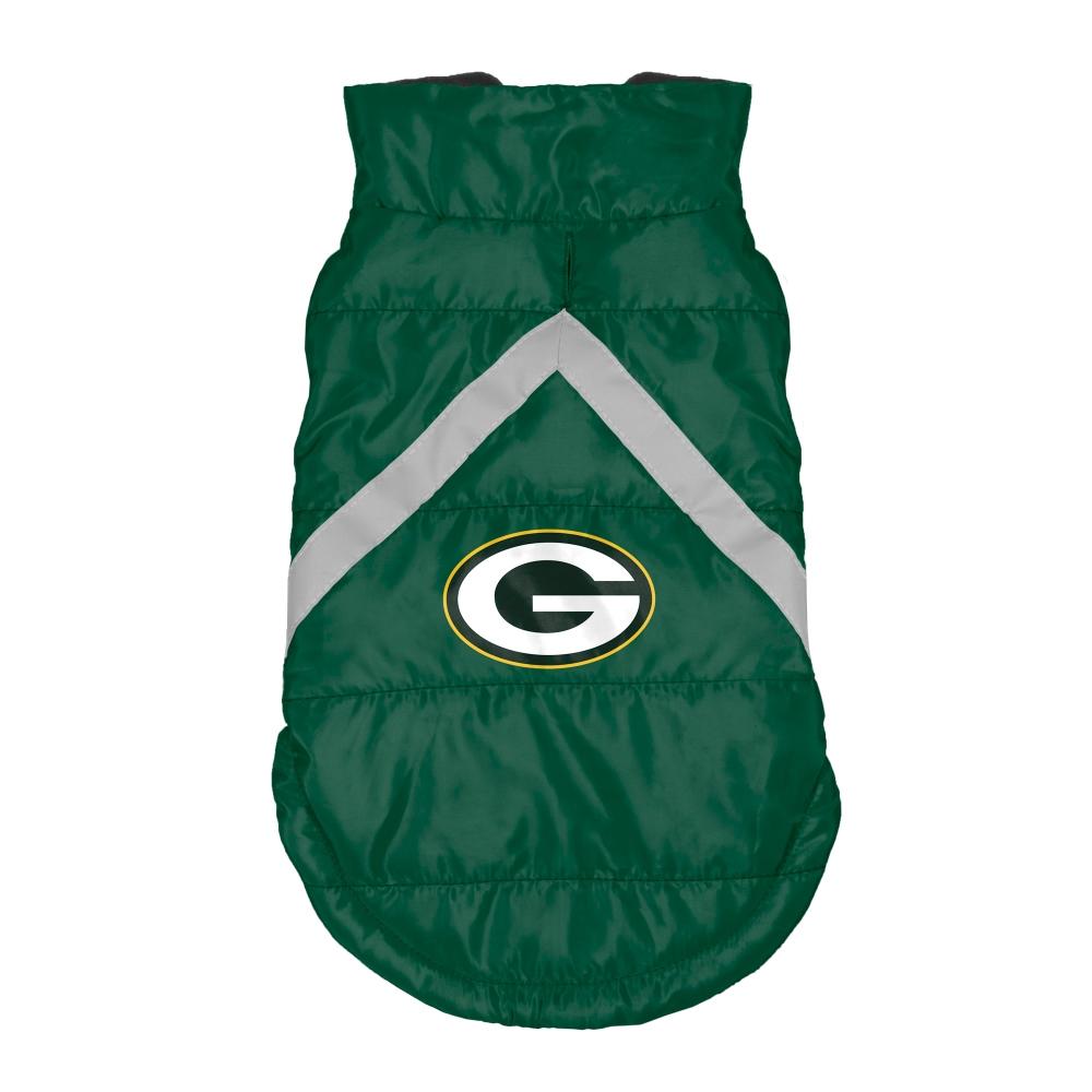 Little Earth Dog Puffer Vest, NFL Green Bay Packers, Medium