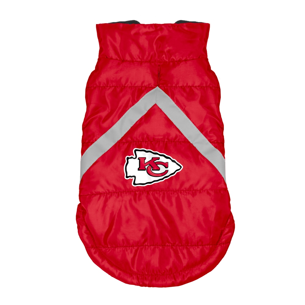 Little Earth Dog Puffer Vest, NFL Kansas City Chiefs, X-Small